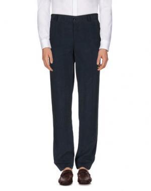 Повседневные брюки YOON. Цвет: грифельно-синий