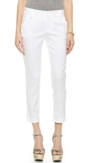 Узкие брюки Stacey alice + olivia. Цвет: белый