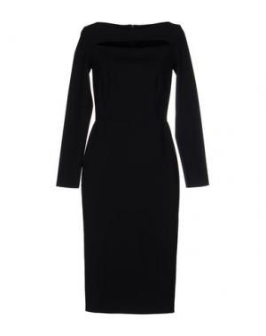 Платье до колена GRETA CONSTANTINE. Цвет: черный