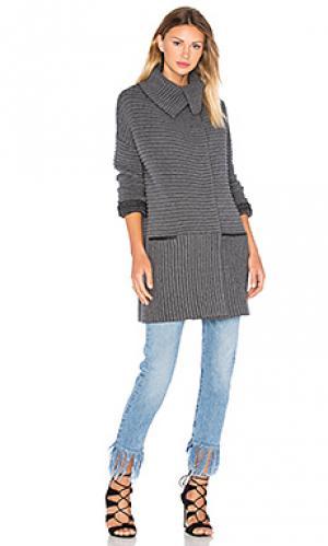Трикотажное пальто cornell Bailey 44. Цвет: серый