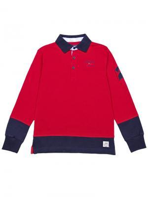 Джемпер-поло Aspen Polo Club. Цвет: красный