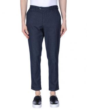 Повседневные брюки OAKS. Цвет: синий