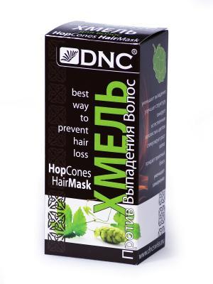 Хмель против выпадения волос, 100 гр DNC. Цвет: серо-зеленый