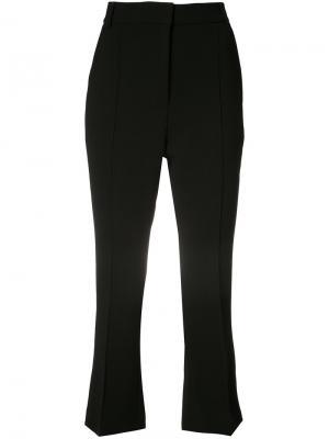 Укороченные брюки Rebecca Vallance. Цвет: чёрный