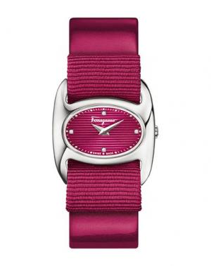 Наручные часы SALVATORE FERRAGAMO. Цвет: пурпурный