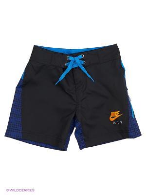 Шорты AOP BOARD SHORT GFX #3 LK Nike. Цвет: черный, синий