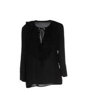Блузка TENAX. Цвет: черный