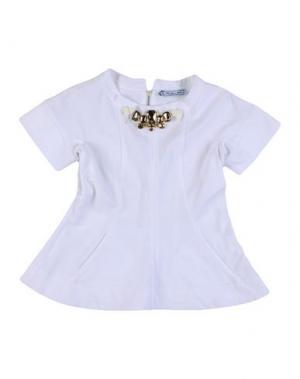 Блузка MIMISOL. Цвет: белый