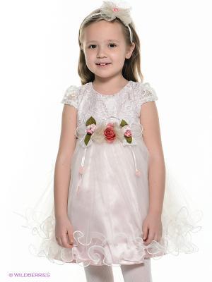 Платье Baby Rose. Цвет: бледно-розовый
