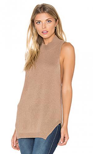 Свитер без рукавов logan 360 Sweater. Цвет: коричневый