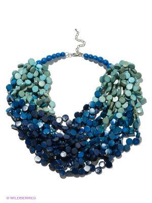 Колье Mindora. Цвет: синий, бирюзовый