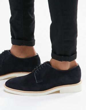 Sebago Туфли на шнуровке Machall. Цвет: синий