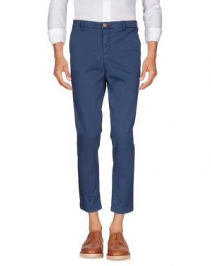 Повседневные брюки JULIAN KEEN. Цвет: синий