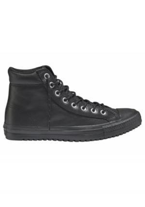 Сникеры Chuck Taylor All Star Boot Hi M. Цвет: темно-коричневый, черный