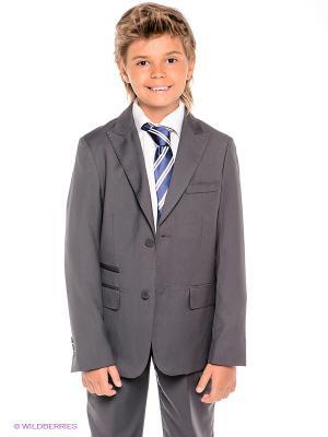 Пиджак S`Cool. Цвет: серый