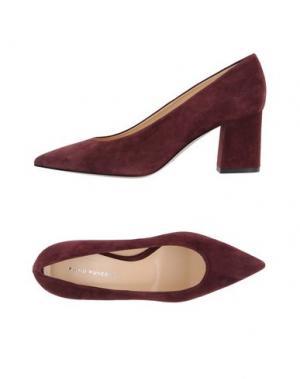 Туфли FABIO RUSCONI. Цвет: красно-коричневый
