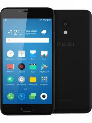 Смартфон Meizu M5 16Gb (M611H-16-BK), чёрный. Цвет: черный