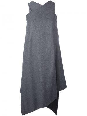 Платье Dap Nehera. Цвет: серый