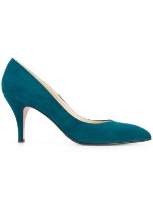 Туфли-лодочки на шпильке Estnation. Цвет: зелёный