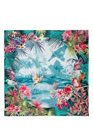 Шелковый платок 183397 Moltini. Цвет: разноцветный