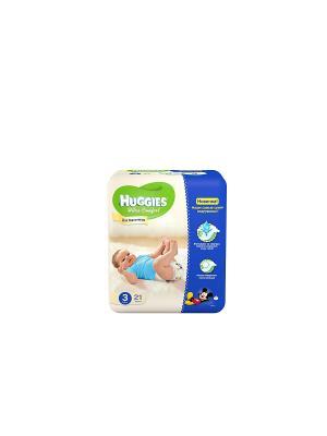 Подгузники Ultra Comfort Размер 3 5-9кг 21шт для мальчиков HUGGIES. Цвет: голубой, синий