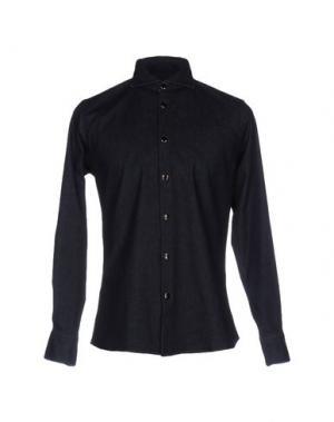 Джинсовая рубашка SAPORE. Цвет: синий