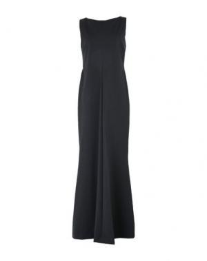 Длинное платье DEPARTMENT 5. Цвет: черный