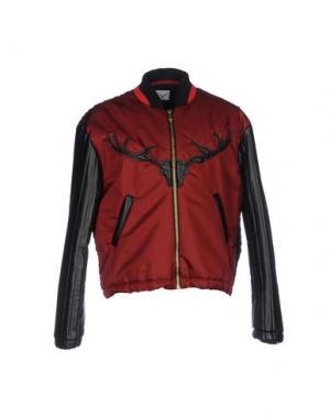Куртка LEITMOTIV. Цвет: красно-коричневый