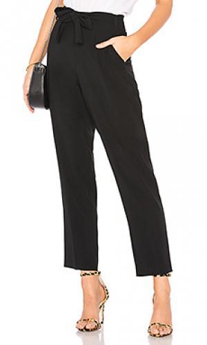 Зауженные брюки 1. STATE. Цвет: черный