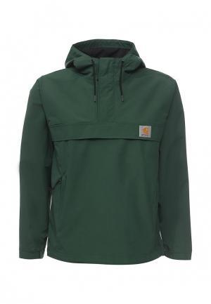 Куртка Carhartt. Цвет: зеленый