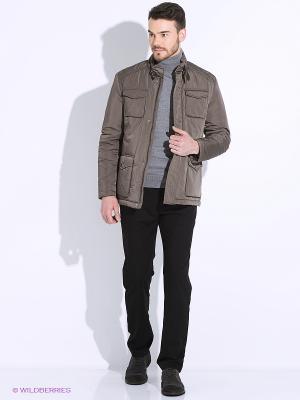 Куртка ARROW. Цвет: коричневый