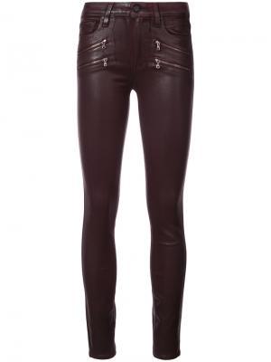 Skinny jeans Paige. Цвет: красный
