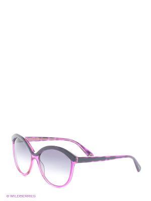 Солнцезащитные очки IS 11-293 50P Enni Marco. Цвет: фуксия, темно-синий