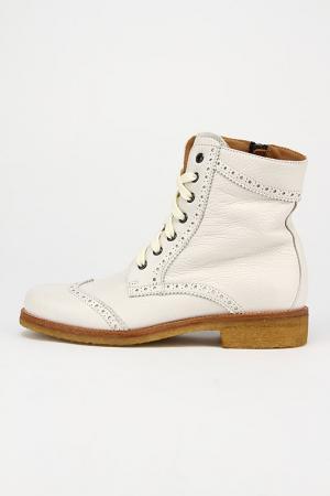 Ботинки Alexander Hotto. Цвет: белый