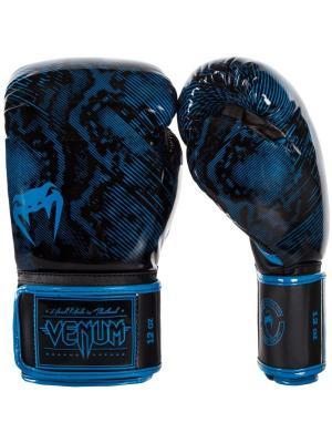 Перчатки боксерские Venum Fusion Blue. Цвет: синий