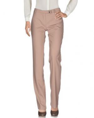 Повседневные брюки CRISTINAEFFE. Цвет: светло-коричневый