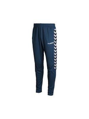 Спортивные брюки TEAM PLAYER MICRO PANT HUMMEL. Цвет: синий