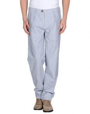 Повседневные брюки OLIVER SPENCER. Цвет: синий