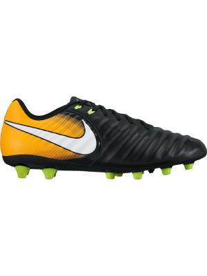 Бутсы TIEMPO LIGERA IV AG-PRO Nike. Цвет: черный, белый