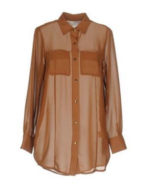 Pубашка SOUVENIR. Цвет: коричневый
