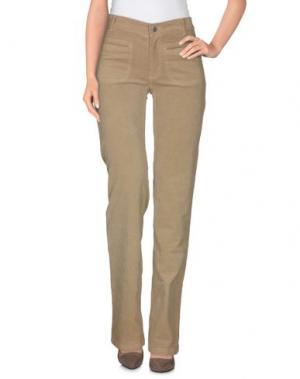 Повседневные брюки VINTAGE 55. Цвет: хаки