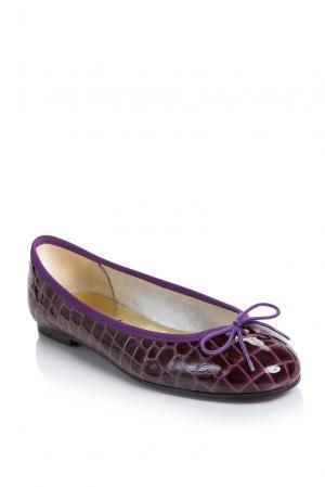Балетки 163637 French Sole. Цвет: фиолетовый