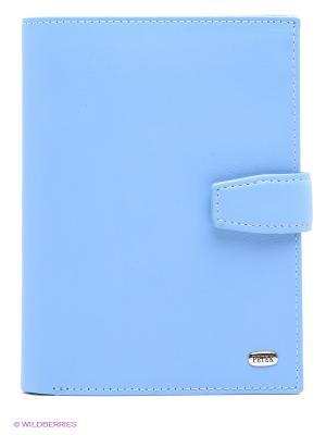 Обложка на автодокументы и паспорт Petek. Цвет: голубой