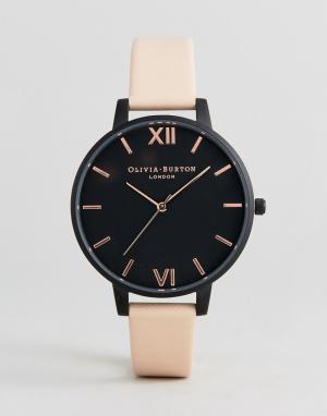 Olivia Burton Часы с кожаным ремешком OB16AD25. Цвет: розовый