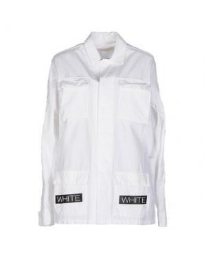 Куртка OFF WHITE C/O VIRGIL ABLOH. Цвет: белый