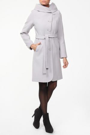 Пальто ELEGANT LADY. Цвет: серый
