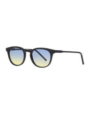 Солнечные очки KYME. Цвет: черный