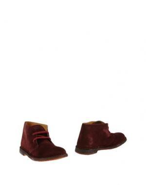 Полусапоги и высокие ботинки MONTENAPOLEONE. Цвет: баклажанный