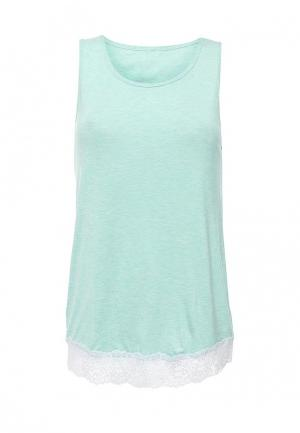 Рубашка домашняя Дефиле. Цвет: мятный