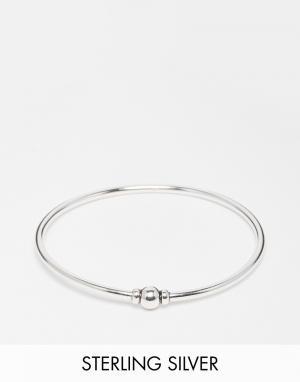 Fashionology Серебряный браслет с круглыми бусинками. Цвет: серебряный